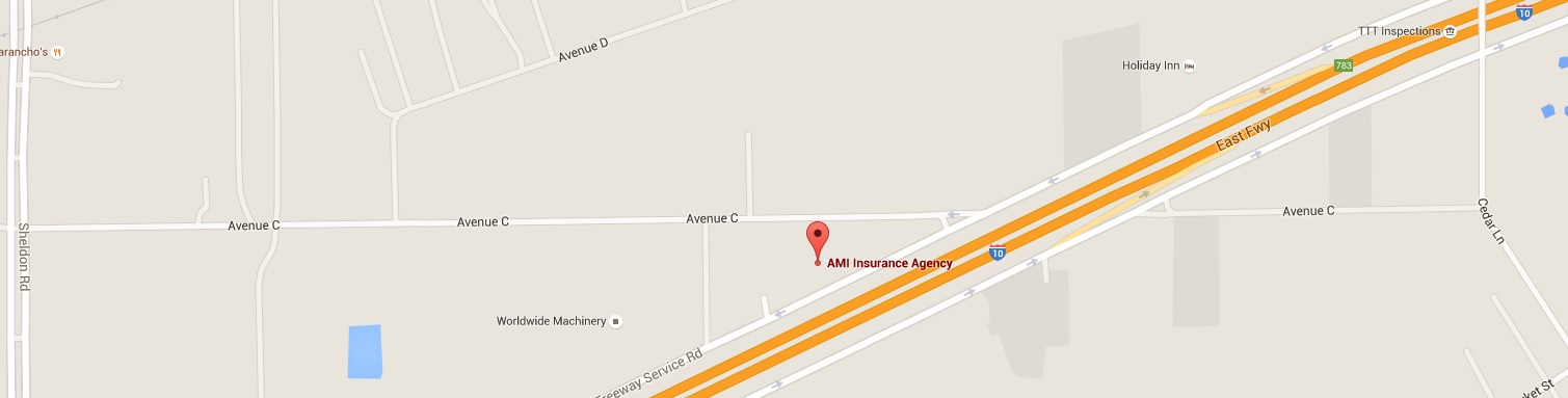 AMI Insurance Map Charter Lakes Insurance of Texas